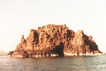 Pigeon Island of Gangavarm