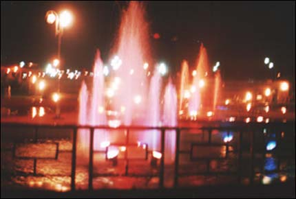 Shivajipark at Night