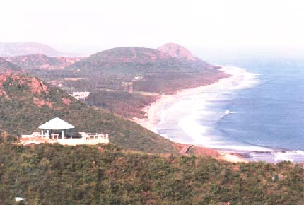 View of Jodugullapalem beach