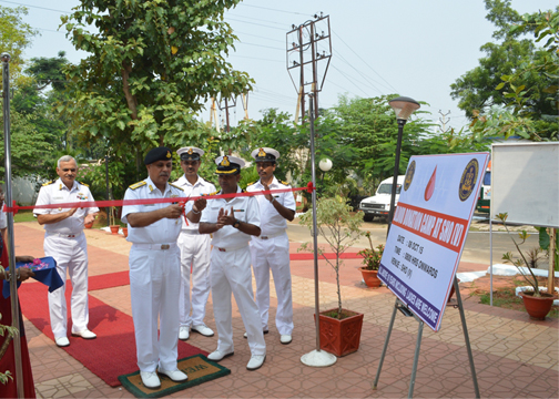 NAVY DAY 2015 CELEBRATIONS BEGINS  WITH BLOOD DONATION CAMP