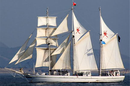 JOINT SAIL VOYAGE BY INDIAN NAVY SAIL TRAINING SHIP TARANGINI AND ROYAL NAVY OF OMAN SAIL TRAINING SHIP SHABAB OMAN  FROM MUSCAT TO KOCHI