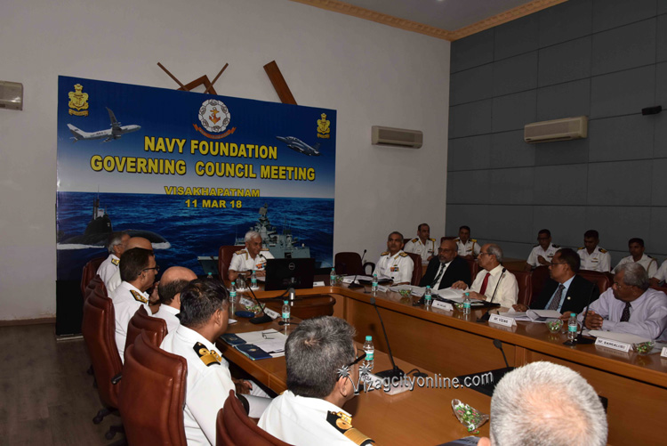 AGM and GCM of Navy Foundation held at ENC