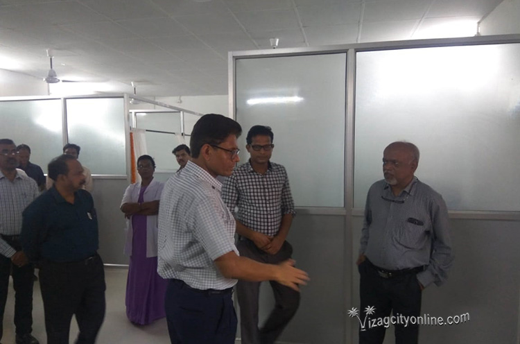 Divisional Railway Manager commissions renovated health unit