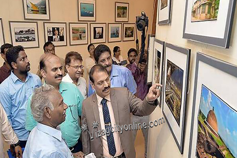 History of Vizag through Bhaskars lenses