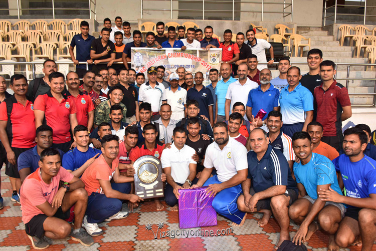 Fleet A wins Mass Swimming Competition 'Jal Taran'