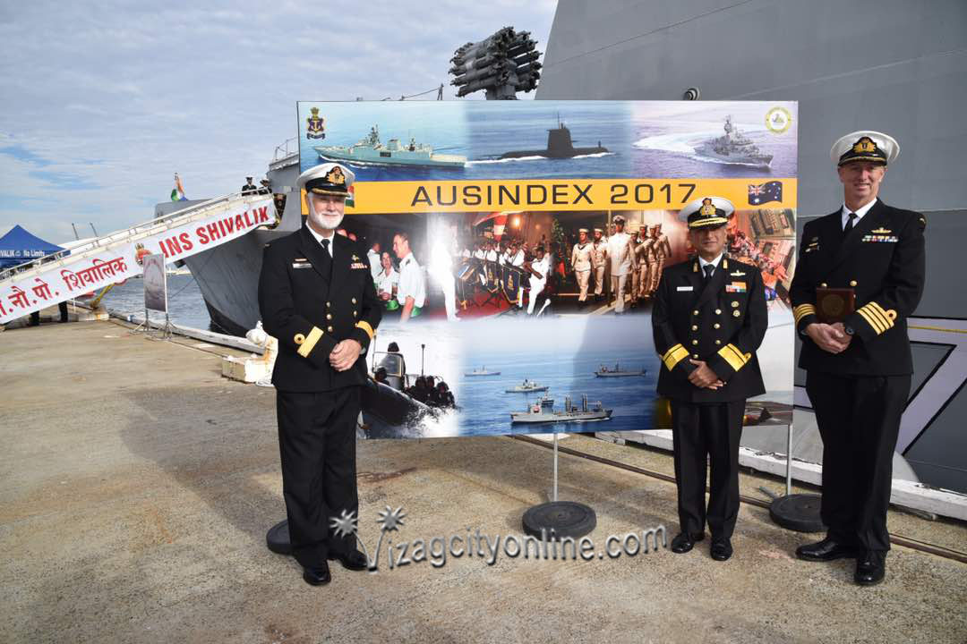 Eastern Fleet Ships enter Freemantle to participate in AUSINDEX-17, a bilateral maritime exercise with Australian Navy