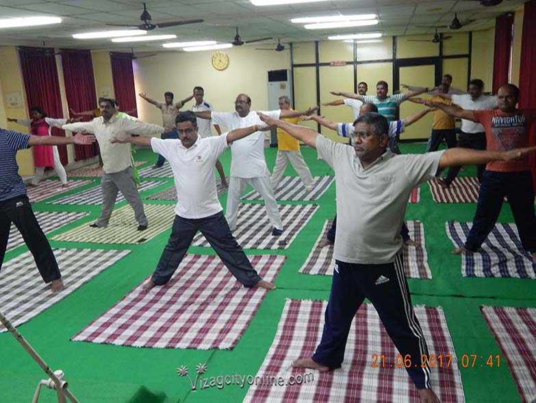 International Yoga Day celebrated in DCI