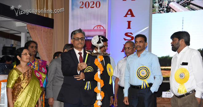 RINL CMD inaugurates All India Steel Medical Officers Conference