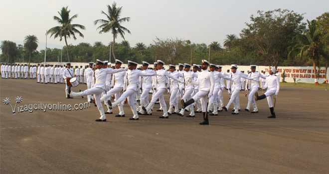 Hull Artificers Pass-out from INS Vishwakarma
