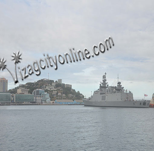 INS Sahyadri on Overseas Deployment to Papua New Guinea