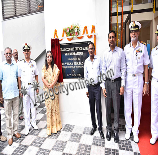 Area Accounts Office (Army) Office Building inaugurated