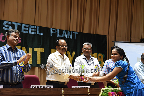 World Environment Day celebrations at Vizag Steel